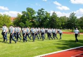 Polizisten Vereidigung Dachau (2)