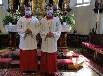 Die Brüder Johannes und Florian Asanger präsentieren das Modell