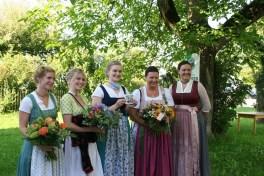 Regina Häußler (Text), Vroni Weinhart (Illustration), Barbara Sigl (1. Gaujugendleiterin), Steffi Perfler (Gesamtorganisation), Maria Voglsinger (2. Gaujugendleiterin)