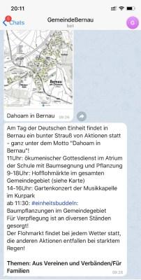 newsletter Bernau