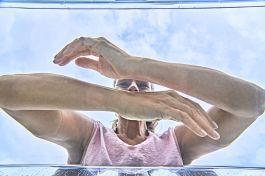 Belebendes Armbad im eigenen Badezimmer für ein starkes Immunsystem © www.gesundes-bayern.de / Gert Krautbauer