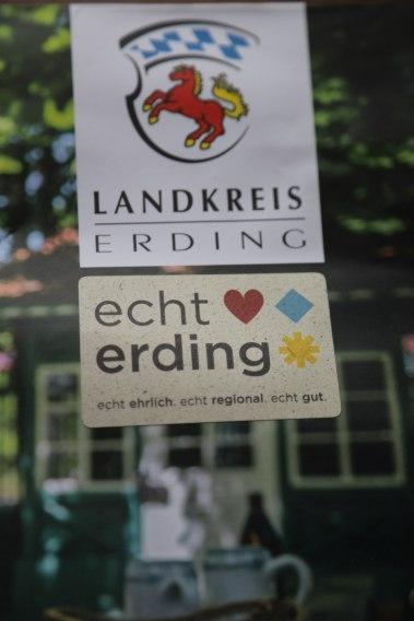 """Das neue Logo der regionalen Marke Erding """"Ehrlich, regional, gut""""."""