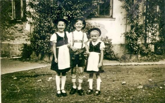 1Aschauer Kinder - Gisa-Fred Leimböck-Schwester Ilse