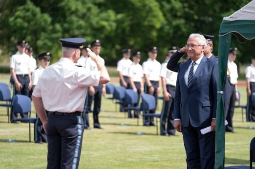 Vereidigung bei der Bayerischen Bereitschaftspolizei (8)