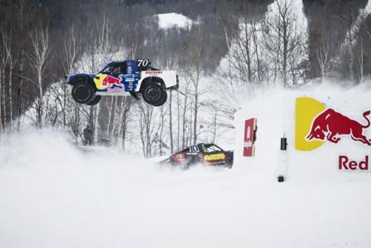 900 Beygir Gücünde Olan Canavarlarıın Kar Testi