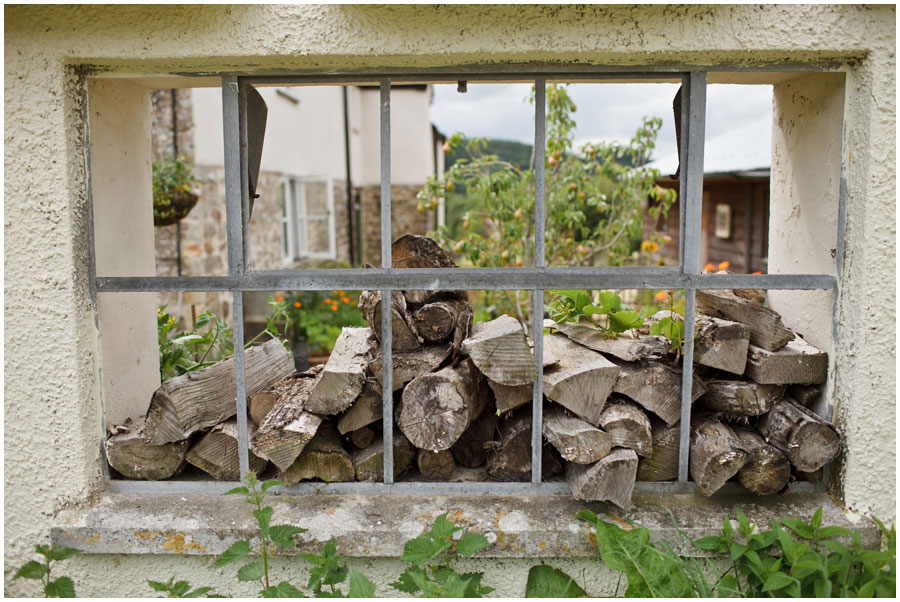 River Cottage Wedding Photography firewood