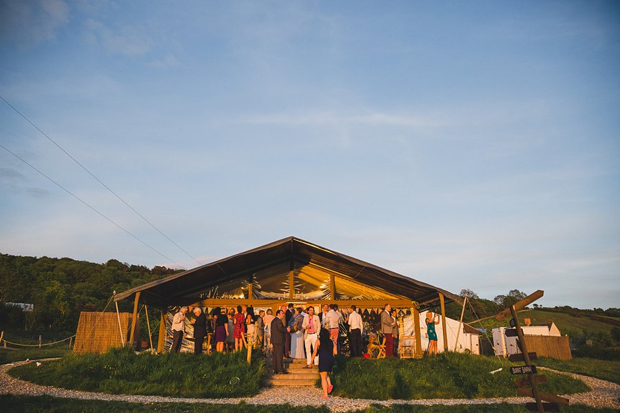 modern wedding photographer at river cottage