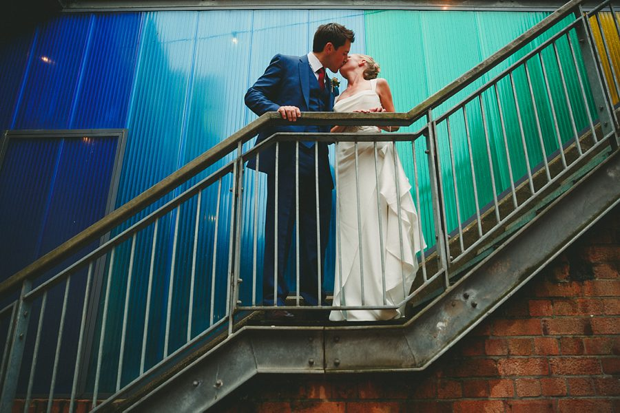 bride and groom portrait at kelmarsh hall