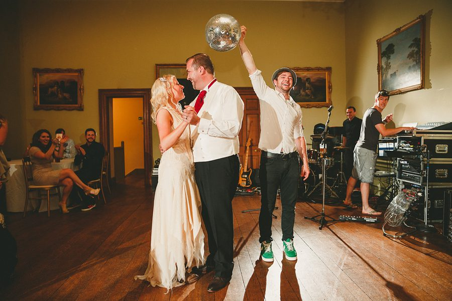 wedding first dance at coombe lodge