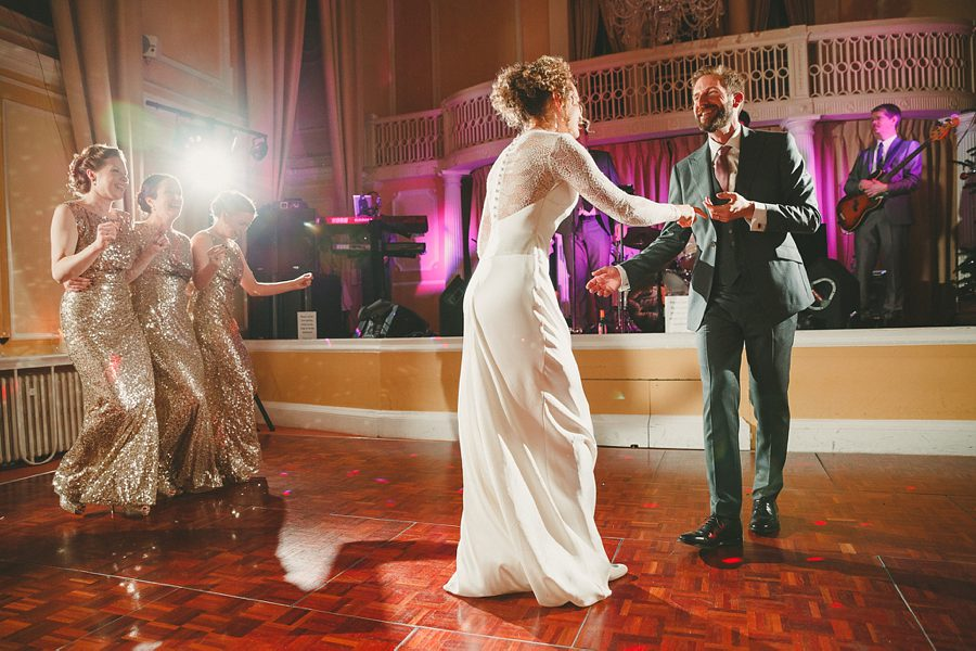 wedding first dance at charlton house