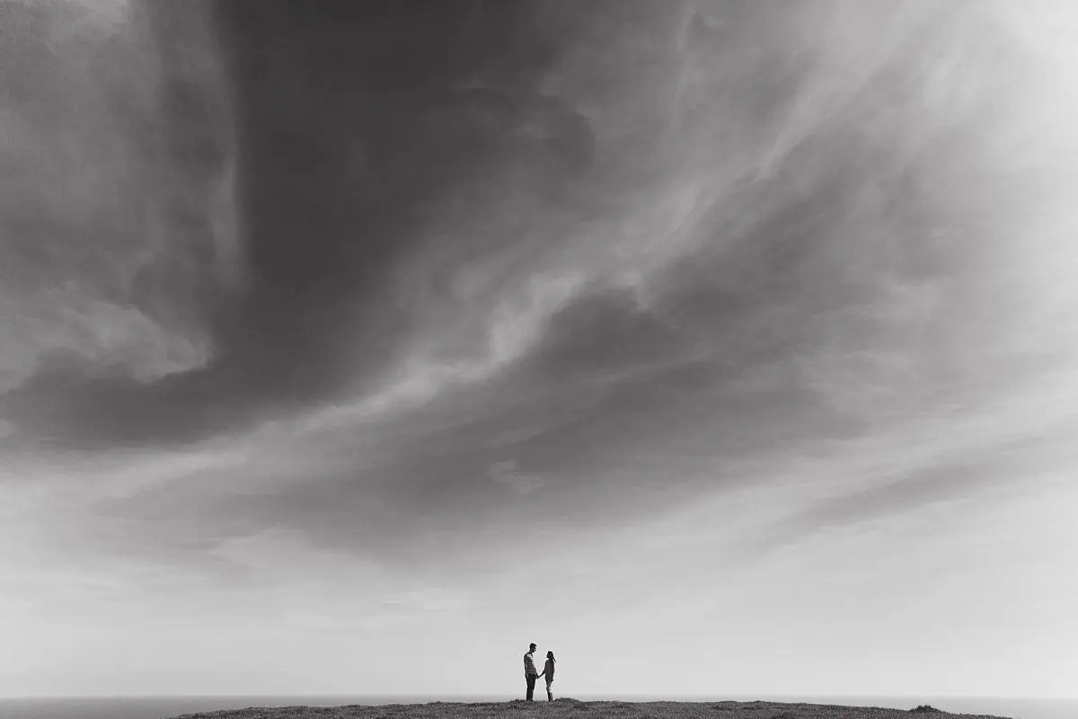 chesil beach engagement