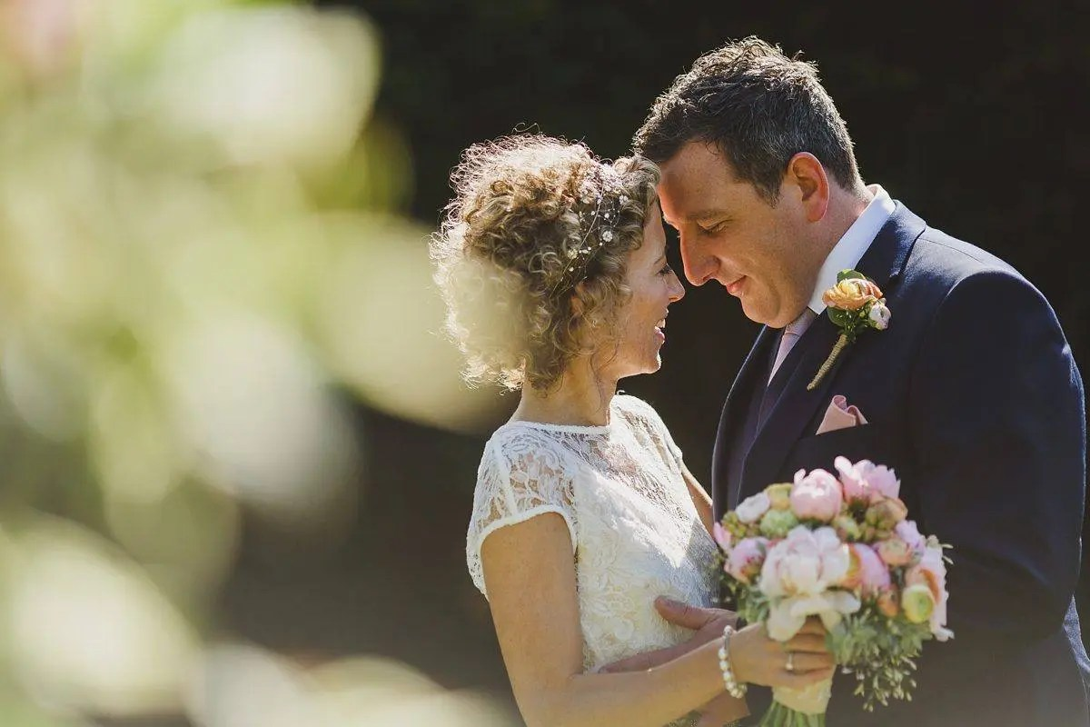 wedding portrait at coombe lodge