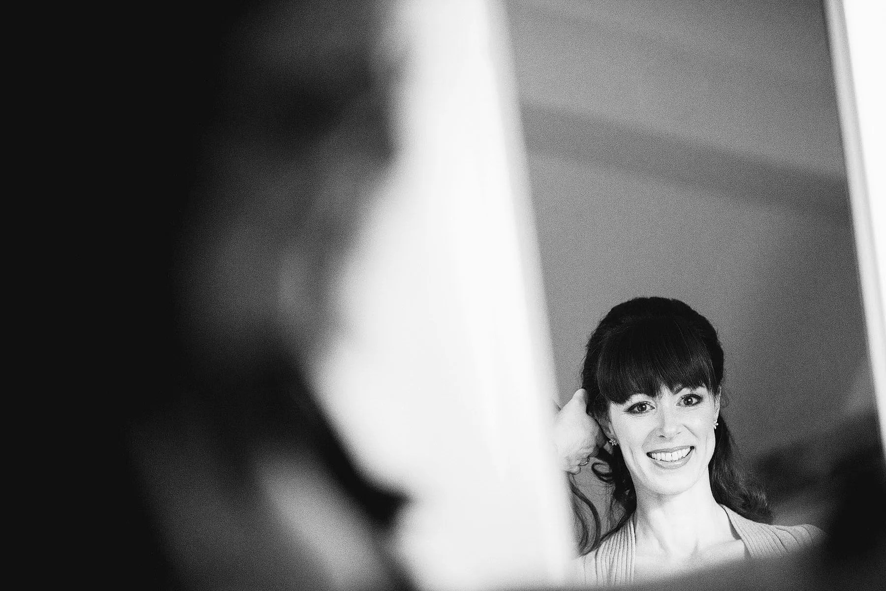 Black and White Documentary Wedding Photography