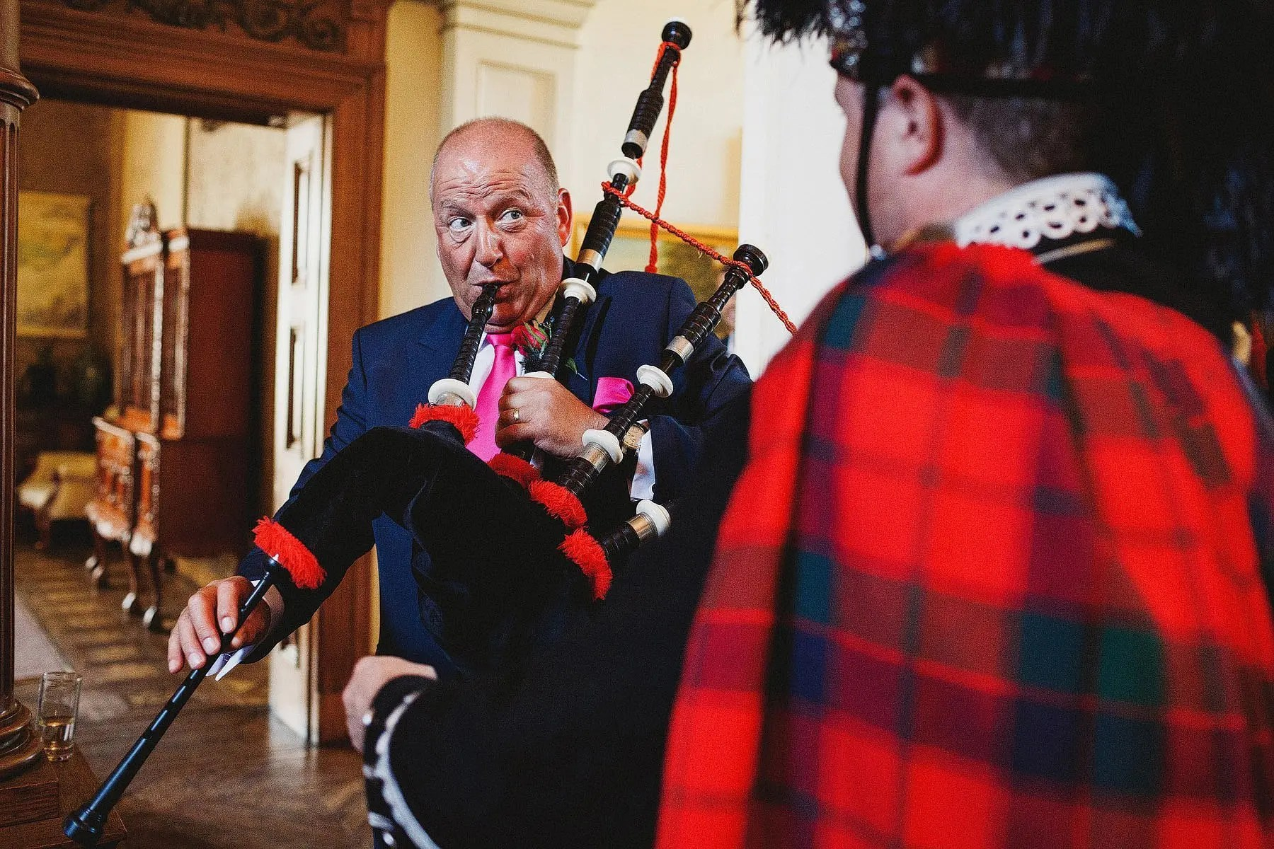 orchardleigh house bagpipes