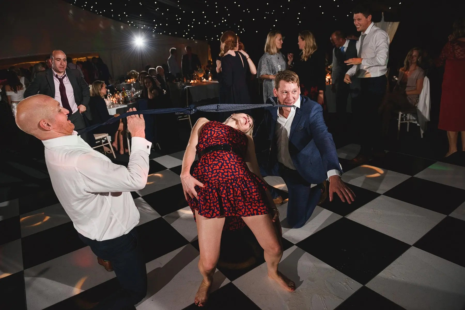 limbo at a wedding in london