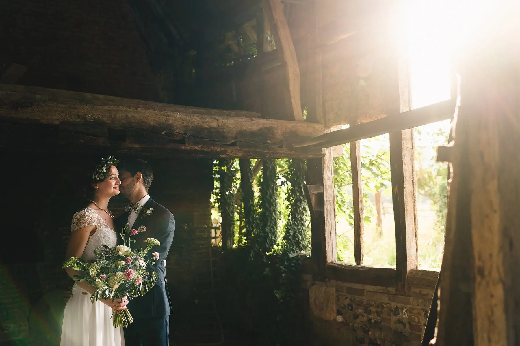 domaine de guerquesalle wedding