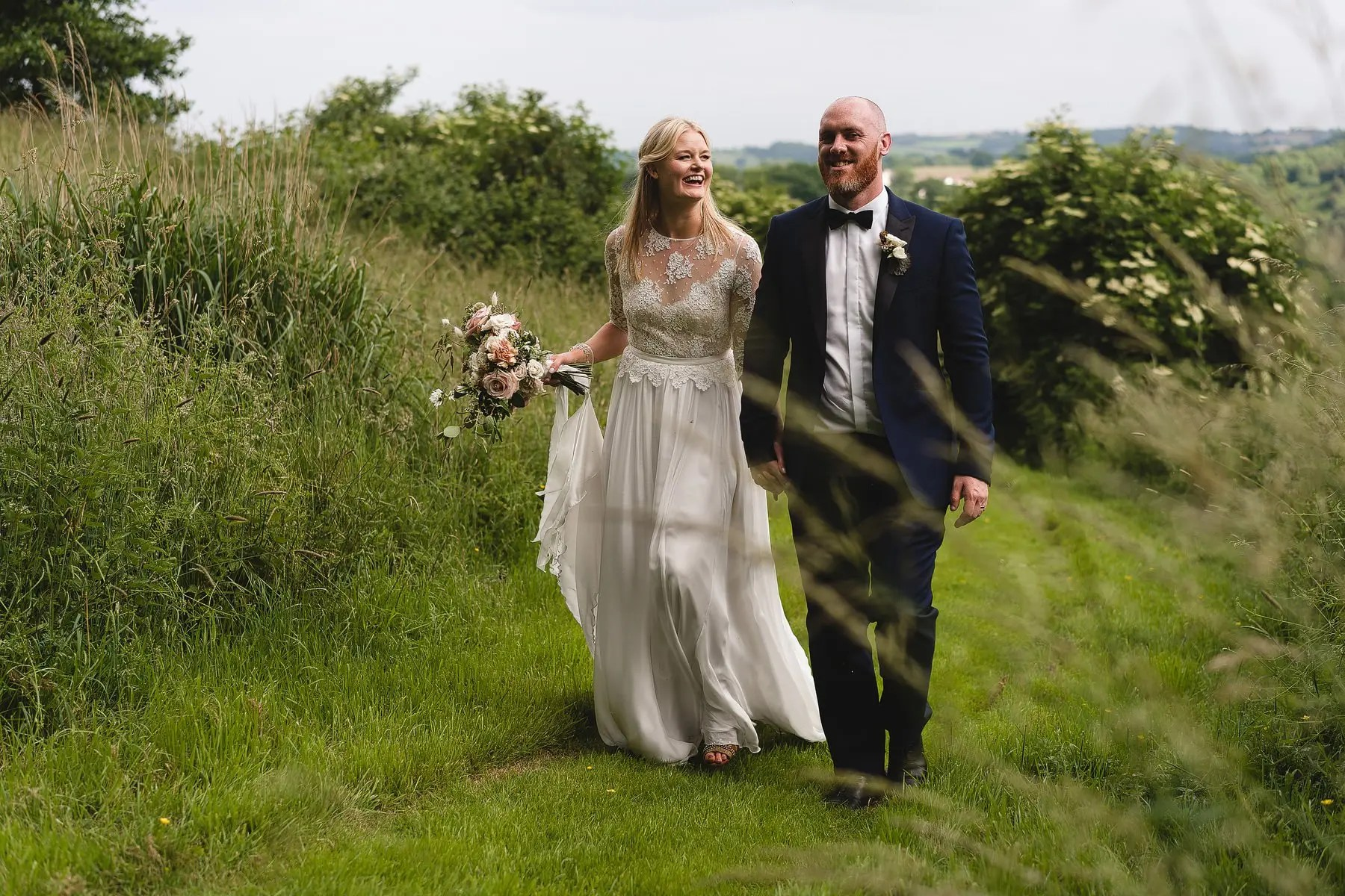 a fun tipi wedding in chew valley