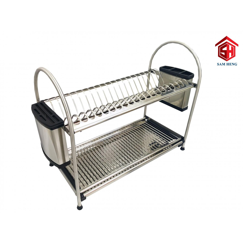 sdr0360k sty1004 sty1005 600mm desktop stainless steel dish racks kitchen sink rack storage rak pinggan