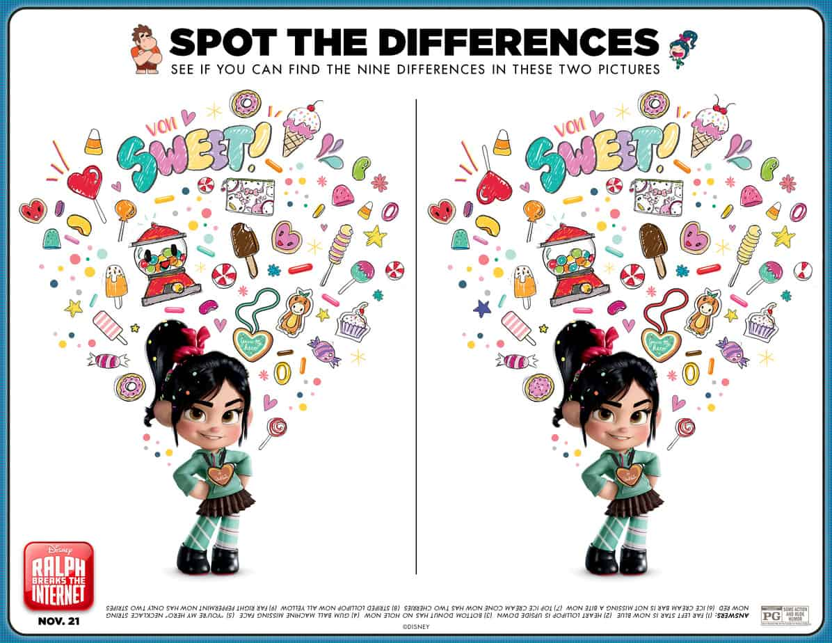 Disney S Ralph Breaks The Internet Free Activity Sheets