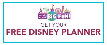 free Disney planner SWBF