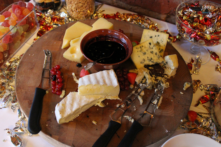 Cheese platter (not so Finish plate)