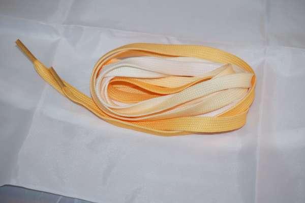 saminette.fr photos de lacets de couleurs jaune