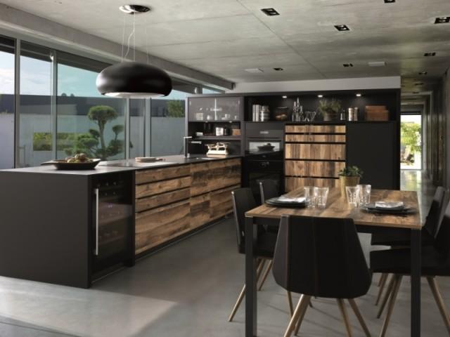 meuble cuisine avec plan de travail