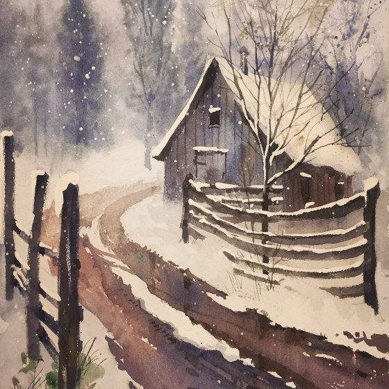 Samira Yanushkova watercolor