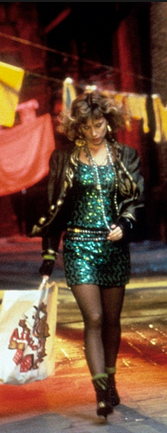 DESPERATELY SEEKING SUSAN GREEN DRESS