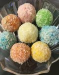 Petha Coconut laddoo with Magic Centre