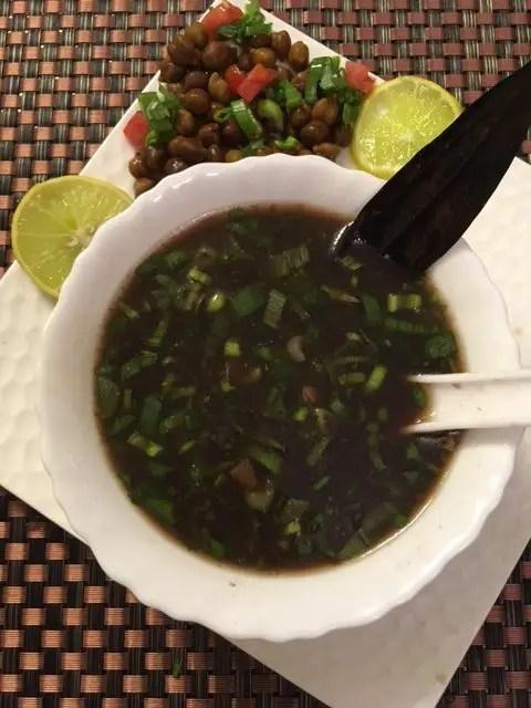 Kala Chana Soup