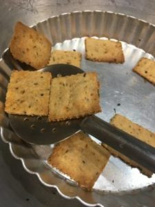 Multigrain Crackers, Masala Multigrain Crackers Without Oven