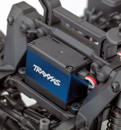 replace the e revo s dual servos with a single trx 2255 for lighter weight more torque and lightning quick steering response  [ 1500 x 1050 Pixel ]
