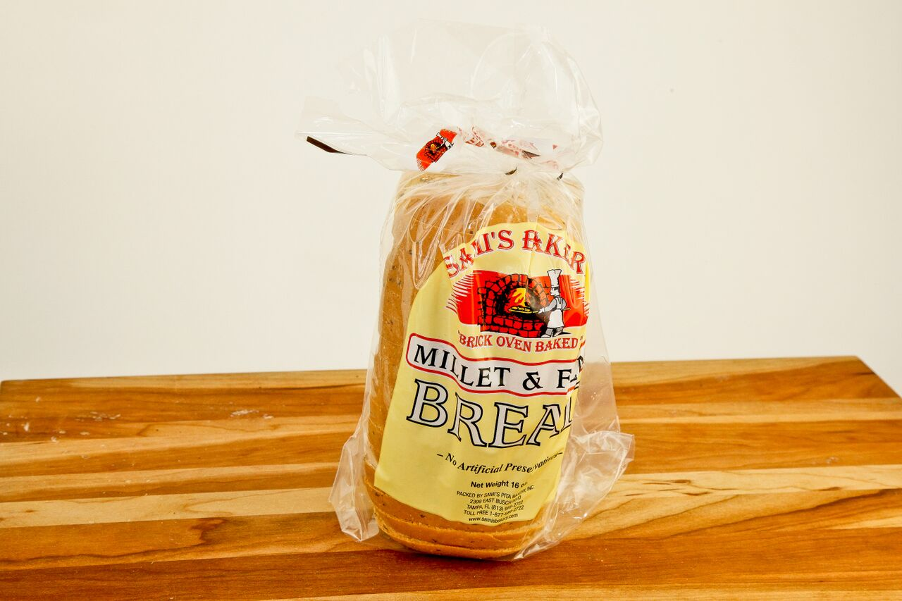 Millet  Flax Bread  Samis Bakery