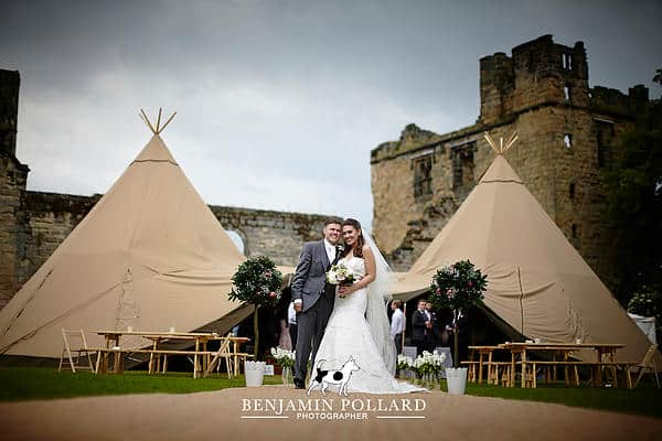 Andrew and Emma Tipi Wedding 1