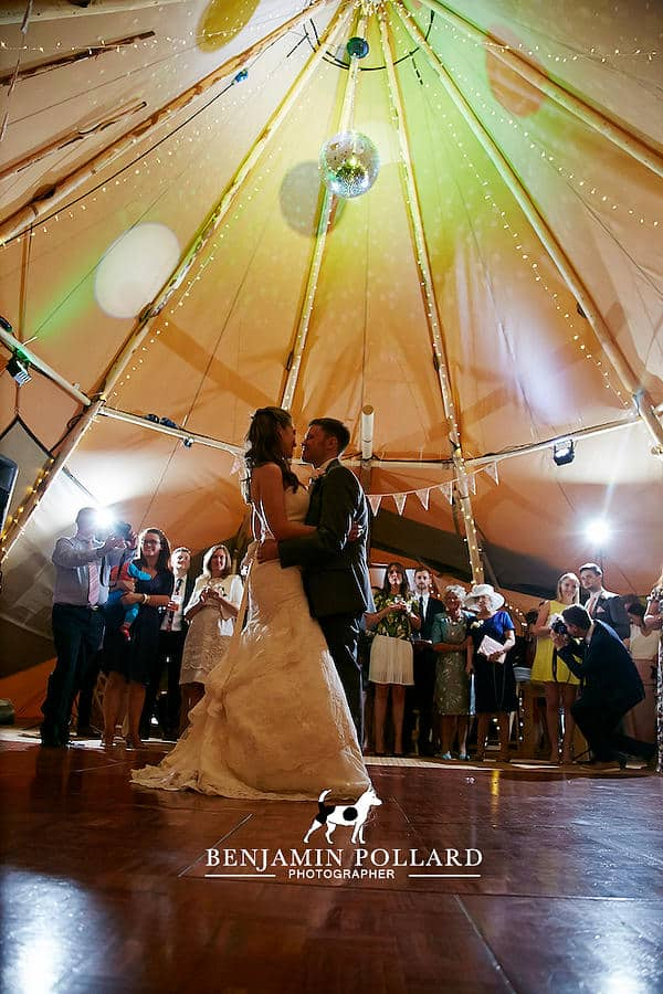 Andrew and Emma Tipi Wedding 2