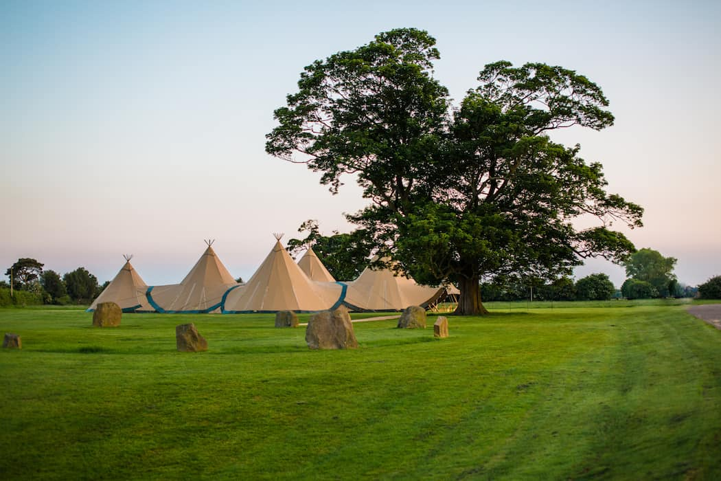 4 Giant Hat with Chill-Out Tipi Set up by Chris Terry 9