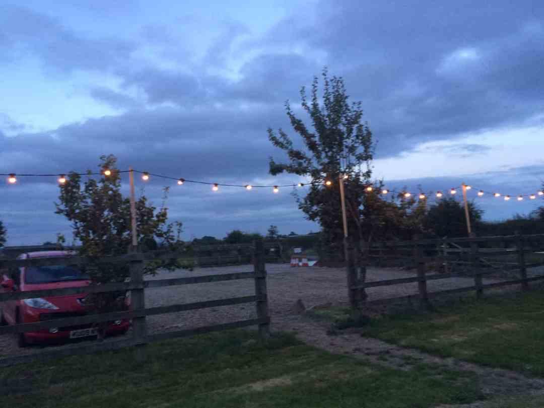 Barford Top Tipi Wedding Site 5