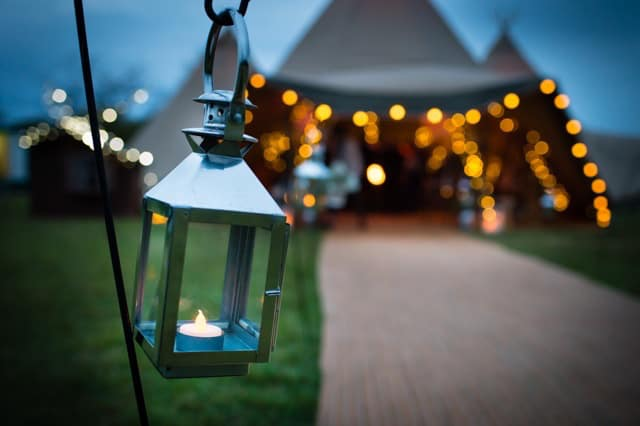 Lantern hire available from Sami Tipi