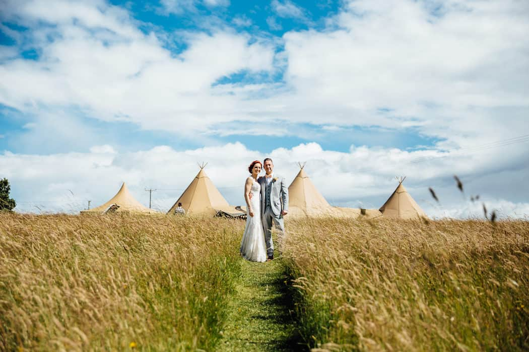 Hayley & Chris's Sami Tipi Wedding captured by Humpston & Bull379