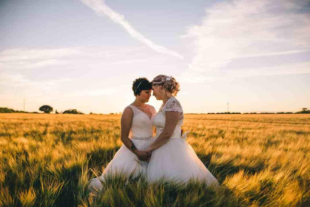 Sami Tipi   real wedding   Lisa and Fliss   Matt Brown Photography   Cattows Farm