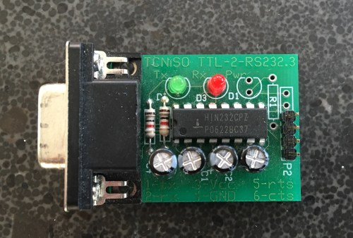 small resolution of rs 232 to ttl adapter created by tcniso
