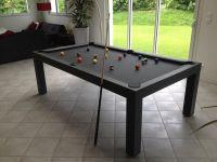 Pearl 8 American Pool Table Dining Table - SAM Leisure