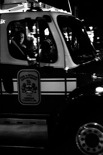 Ambulance Rider - By Sam Meddis