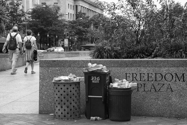 Freedom Plaza - By Sam Meddis