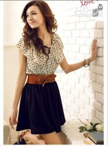 Something like this is adorable. Casual, light enough to wear in warm weather, modest, and short enough to still be flirty. (Photo Credit: Pinterest. Click image to be taken to pin.)