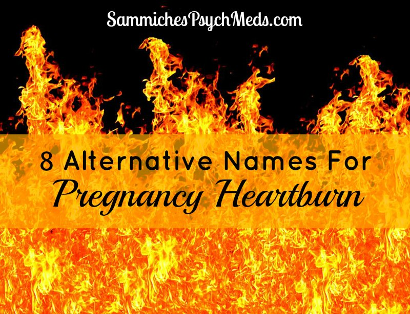 Heartburn during pregnancy can be the absolute WORST. This list will make you laugh which may ease the pain a bit... or make it worse.