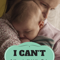 Once you have a baby, you realize all the things you simply can't do. Because, OBVIOUSLY, you have to hold the baby.
