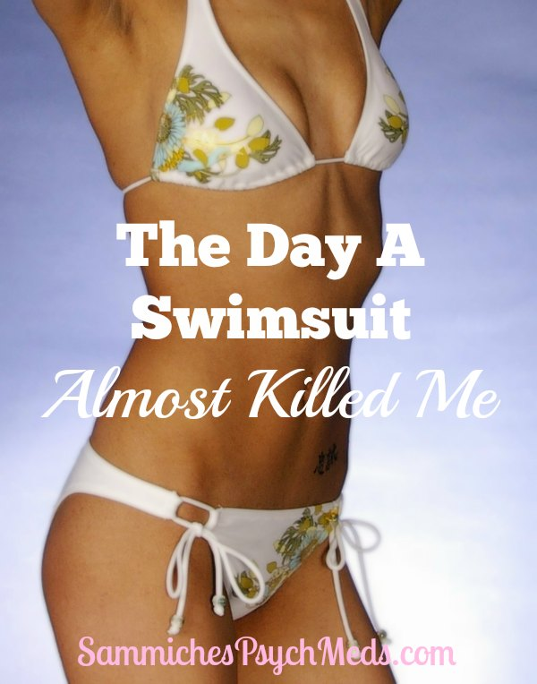 Bathing suit shopping can be less than fun. To add insult to injury—literally—this woman got trapped in a swimsuit while trying it on. So tragic and so funny.