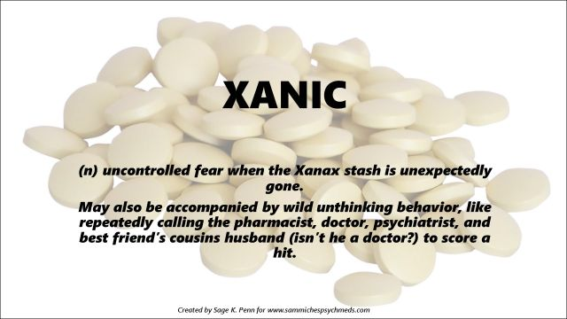 Only 1 Xanax left. Spring break is next week and the kids will be home ALL DAY EVERY DAY! I'm starting to xanic.